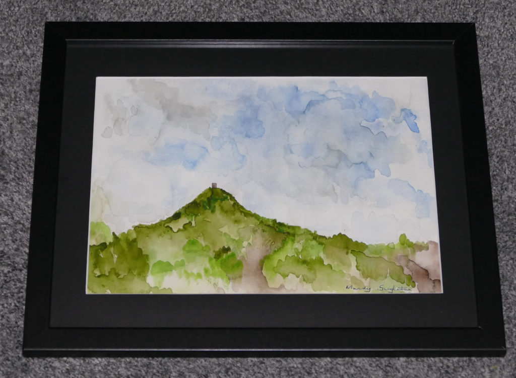 Moody Skies Over Glastonbury Tor Available to Purchase