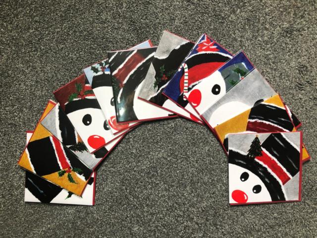 Christmas Cards - Snowman Range