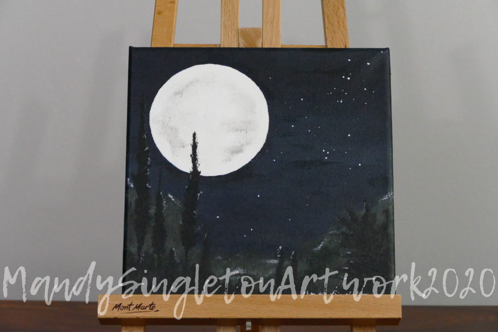 Silver Light of The Moon Available to Purchase