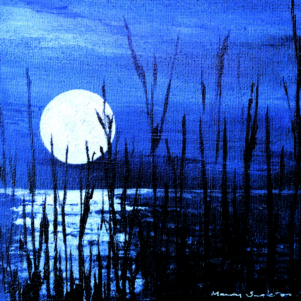 Moon and Reeds Card available to purchase