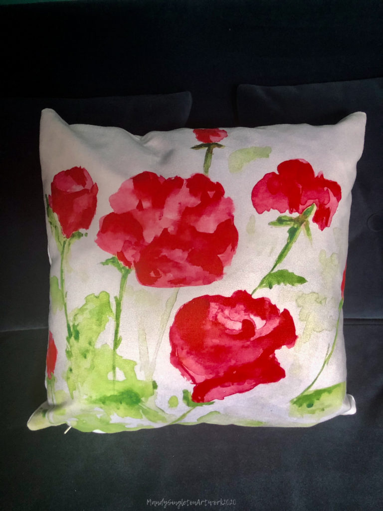 Red Roses Cushion