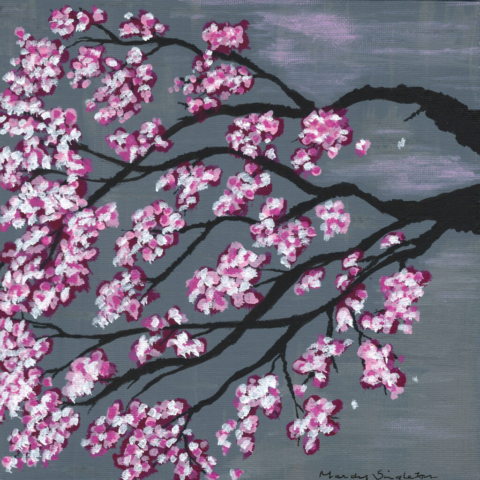 Cherry Blossom - Bold Flower Collection - Gallery